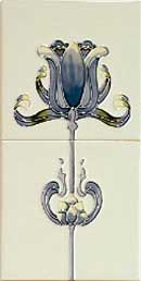 Gallery TULIP Blue Ivory